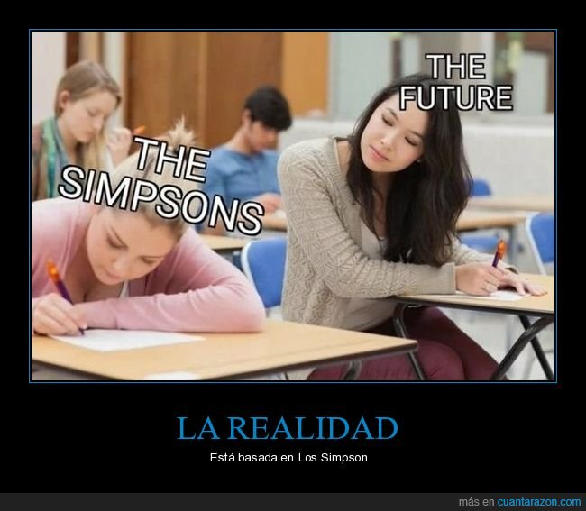 copiando,futuro,simpsons