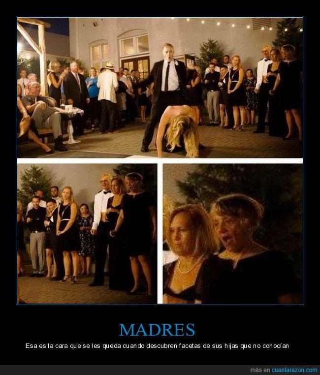 boda,cara,hija,madre