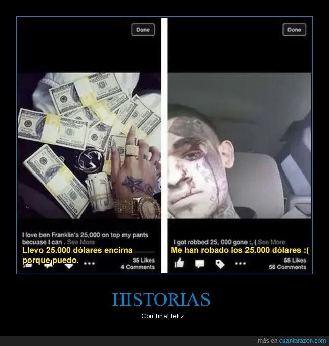dinero,fails,robo