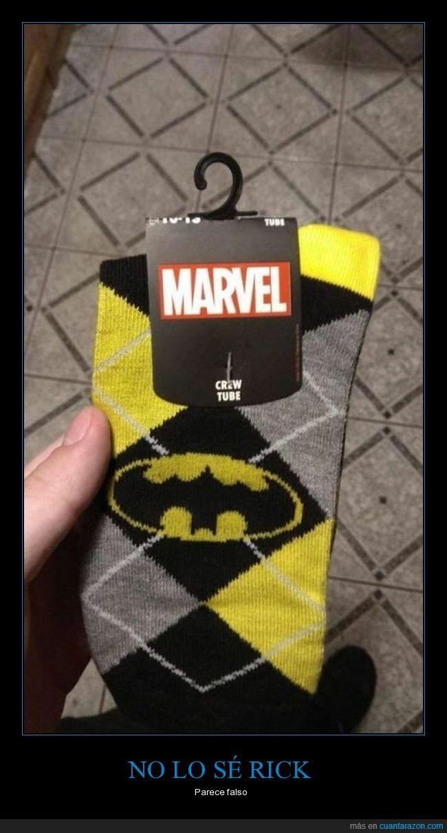 batman,calcetines,fails,marvel,wtf