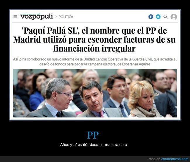corrupción,financiación irregular,nombre,paquí pallá,políticos,pp