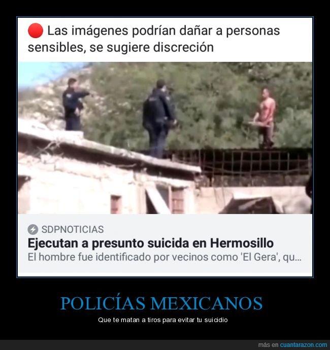 matar,policía,suicida