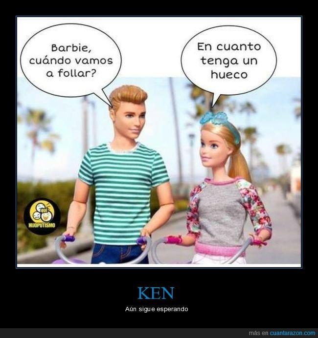 absurdo,barbie,hueco,ken