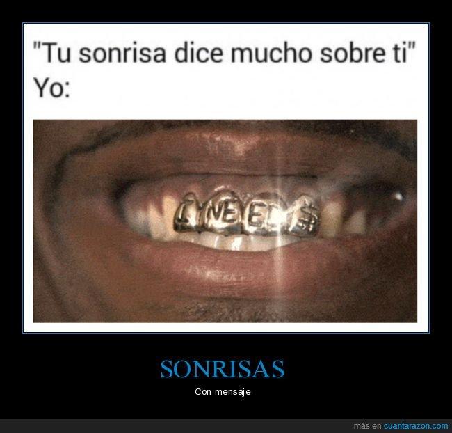 decir,dinero,i need money,sonrisa