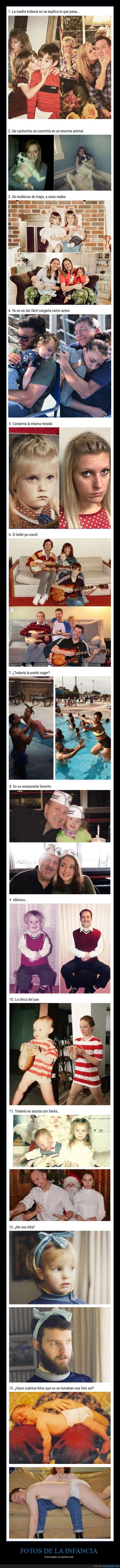 fotos,infancia,recreando