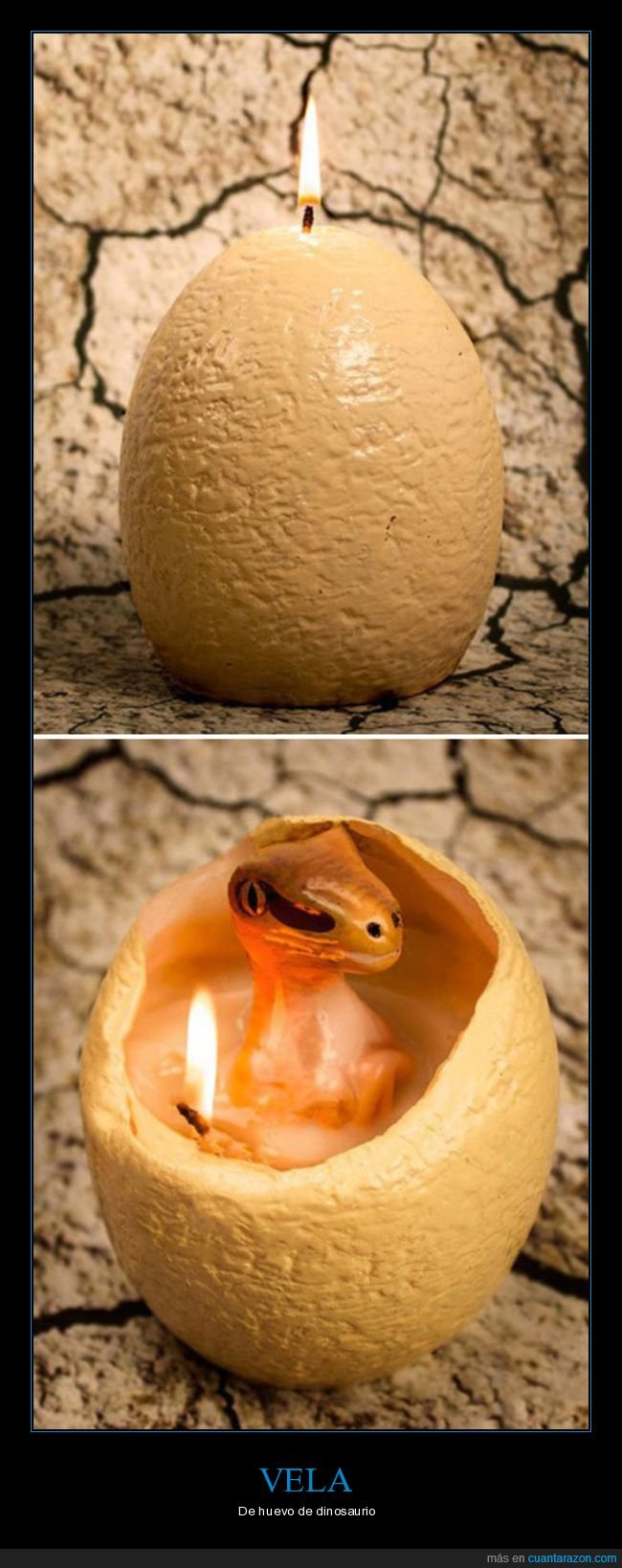 dinosaurio,huevo,vela