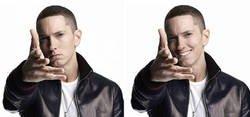 """Enlace a Hacen que Eminem """"sonría"""" photoshopeando sus fotos, y ahora tiene mejor aspecto"""
