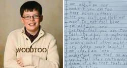 Enlace a Este niño con autismo escribió un conmovedor poema sobre lo raro que es, e hizo llorar a su profesor