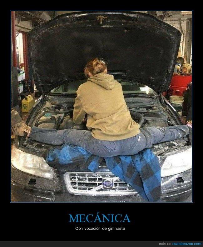 coche,mecánica,piernas,wtf