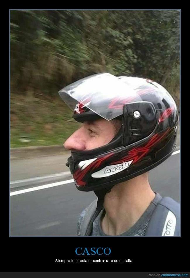 casco,fails,nariz
