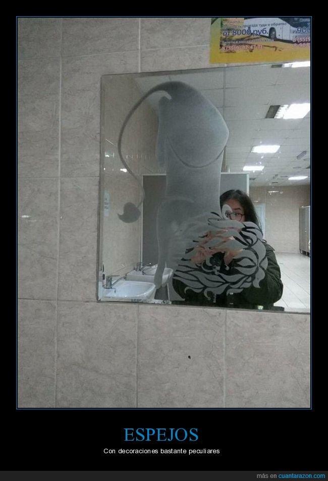 decoración,espejo,wtf
