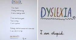 Enlace a Esta estudiante de 10 años sorprendió a su profesora con un poema sobre la dislexia que se puede leer en ambos sentidos