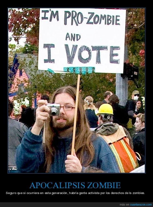 activistas,apocalipsis zombie,derechos