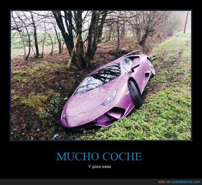 coche,fails,lamborghini
