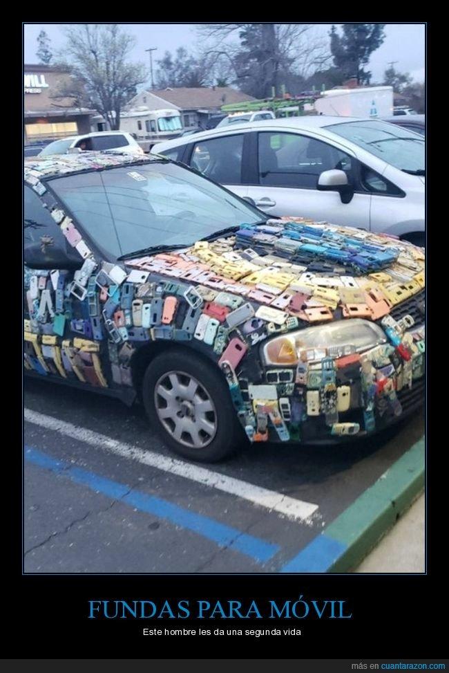 coche,fundas,móviles,wtf