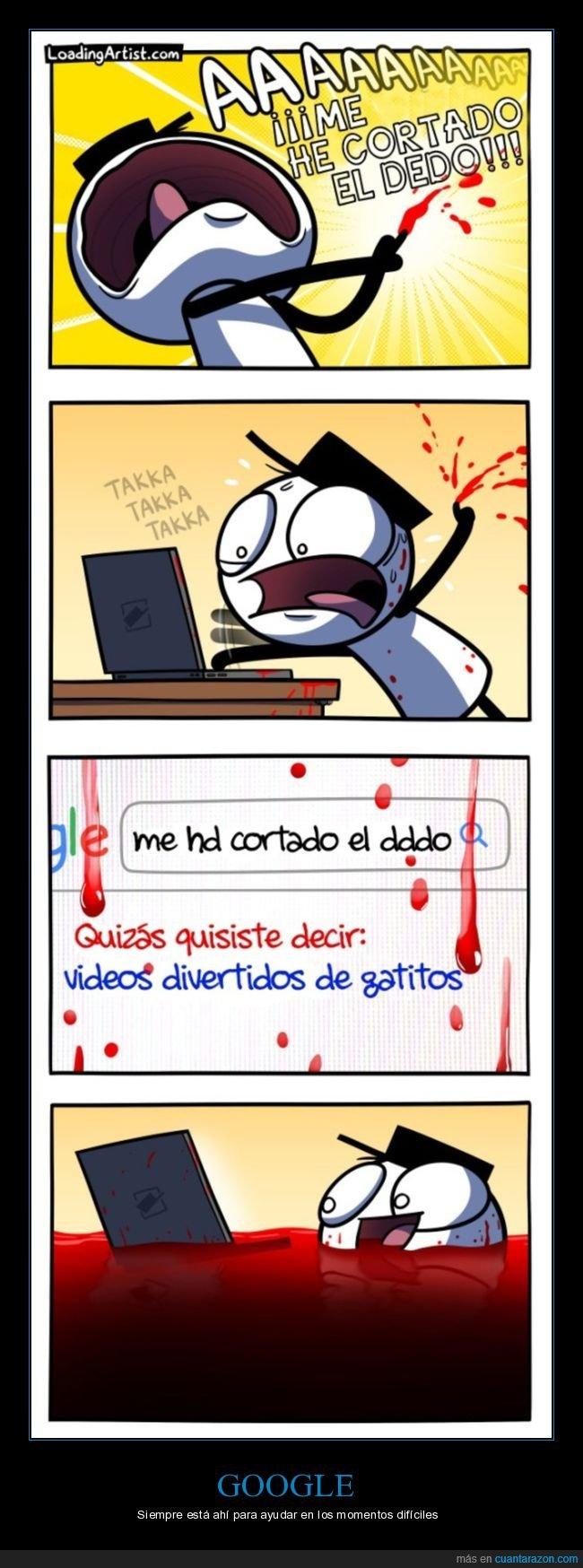 cortarse,dedo,google