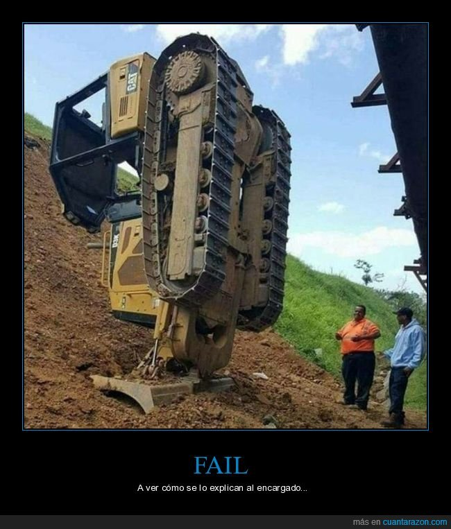 fails,obra,tractor
