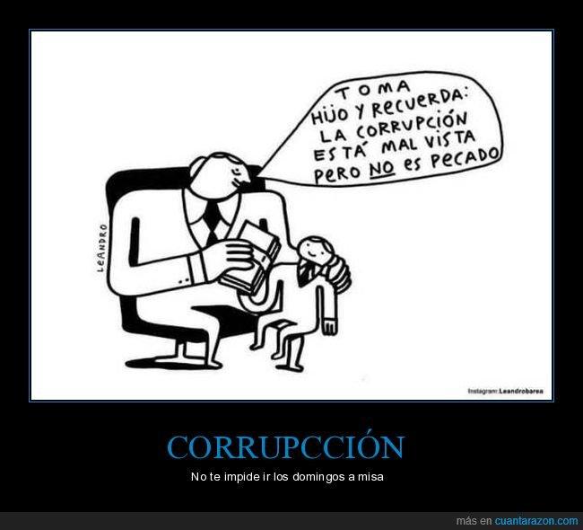 corrupción,hijo,mal vista,padre,pecado