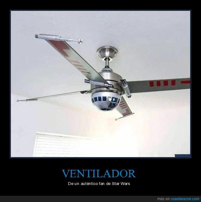 r2d2,star wars,ventilador