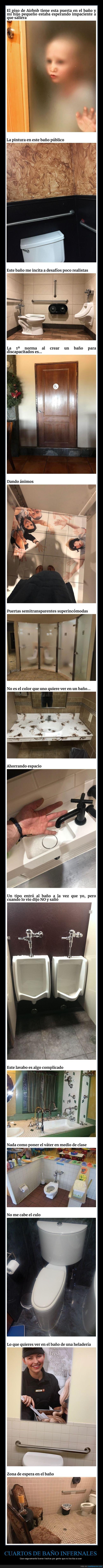 aseos,cuartos de baños,fails