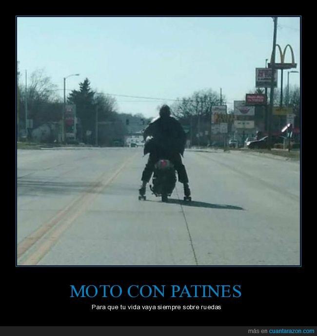 moto,patines,wtf
