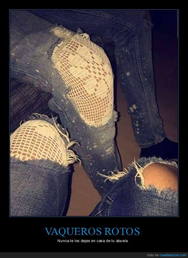 abuela,pantalones,rotos,wtf