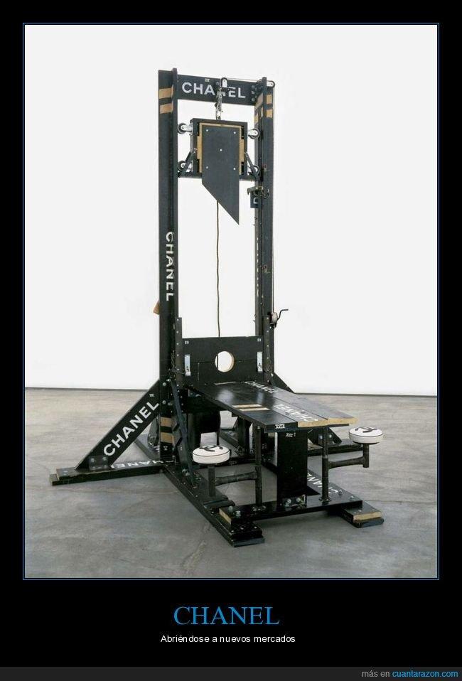 chanel,guillotina,wtf