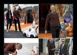 Enlace a A Obama le hizo el día