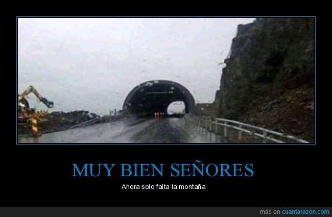 faltar,montaña,túnel