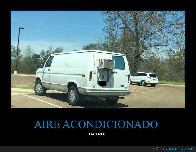 aire acondicionado,furgoneta,wtf