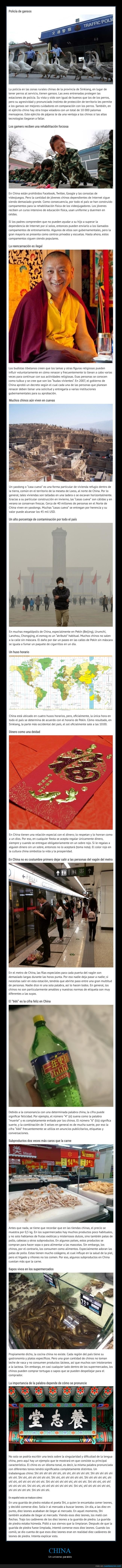 china,curiosidades
