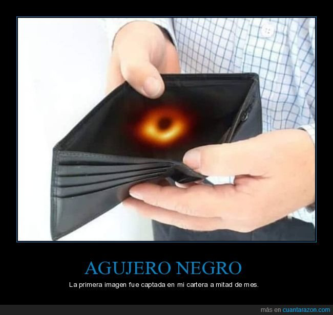 agujero negro,cartera