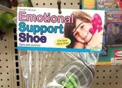 Enlace a Zapato de apoyo emocional