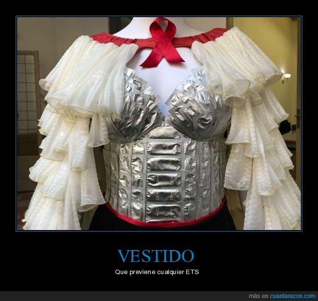 condones,vestido,wtf