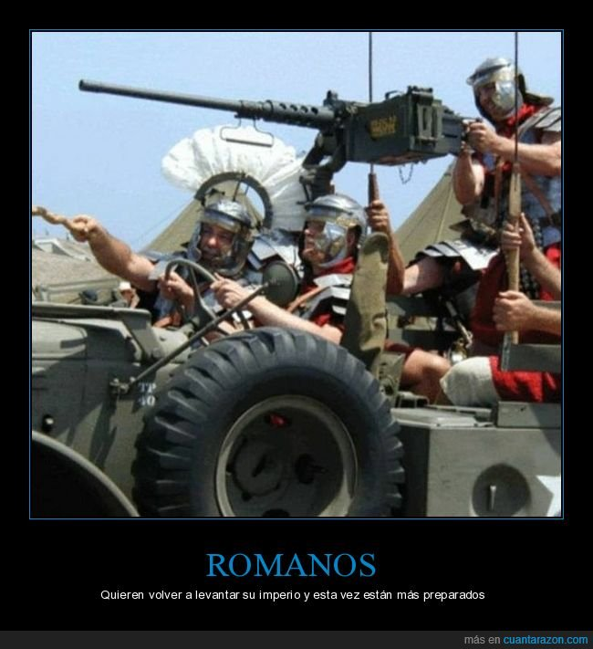 armas,romanos,wtf