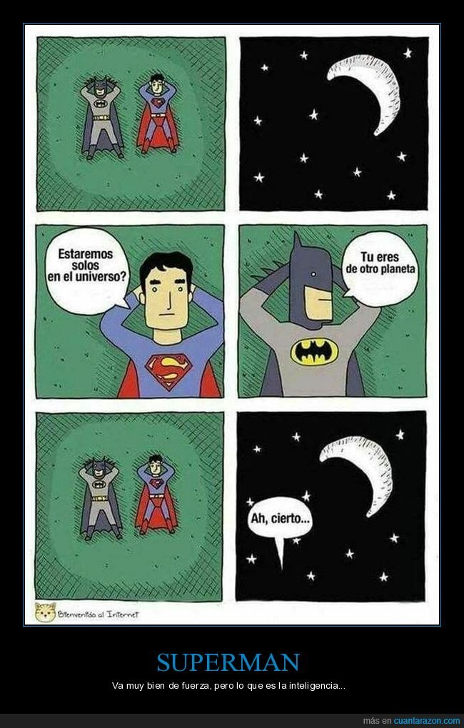 extraterrestre,pensar,planeta,superman,universo
