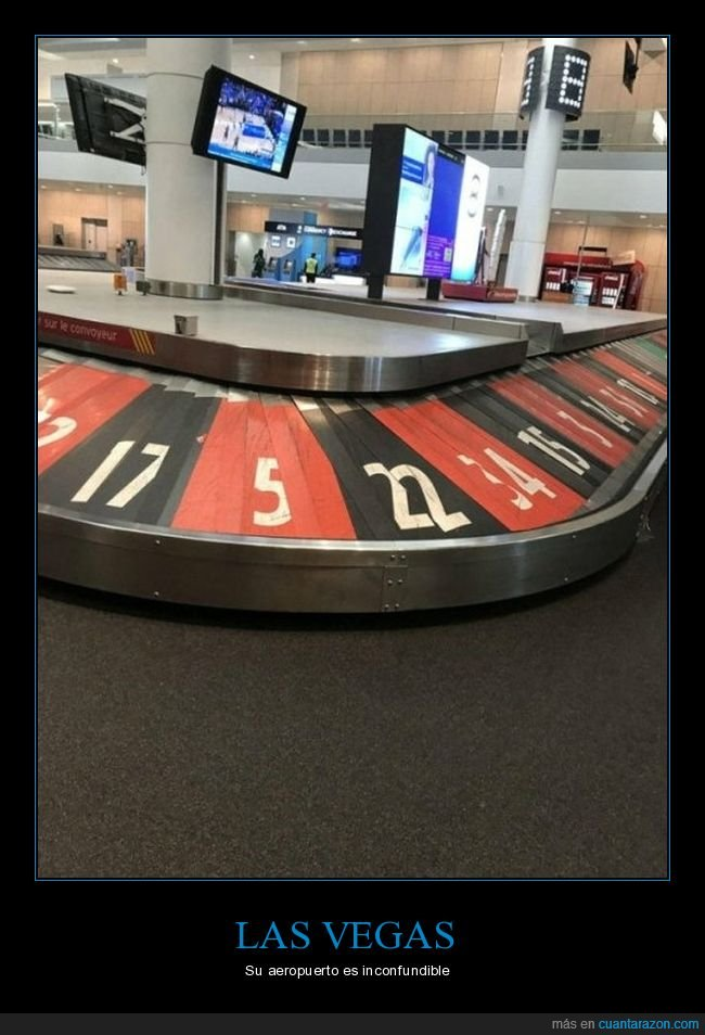 aeropuerto,cinta,las vegas,maletas,números,ruleta