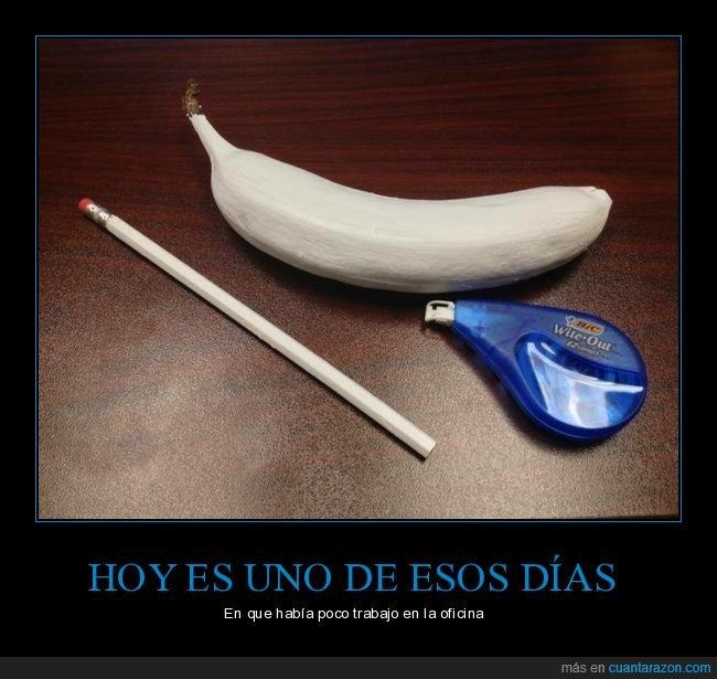 blanco,forrar,plátano,tippex