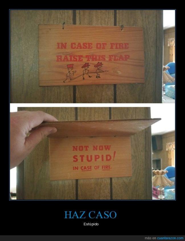 broma,emergencia,estupido,fuego,incendio