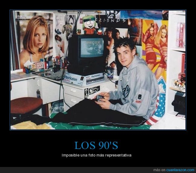 90,buffy,friends,kyle,playstation,spice