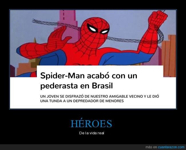 brasil,héroe,spiderman