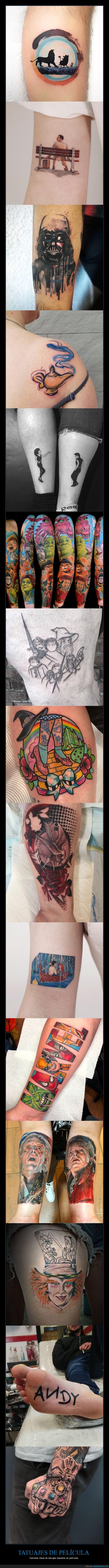 cine,películas,tatuajes