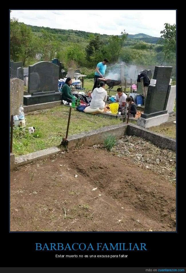 barbacoa,cementerio,wtf