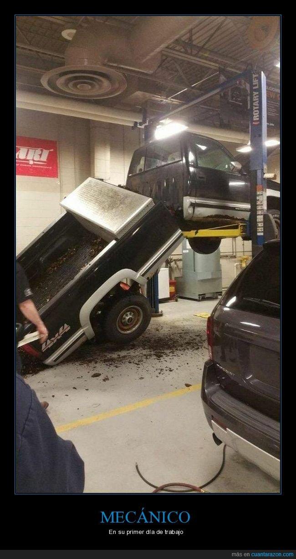 camioneta,fails,mecánico,taller