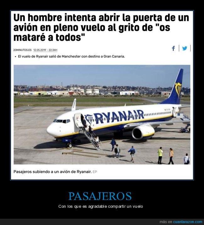avión,matar,puerta,wtf