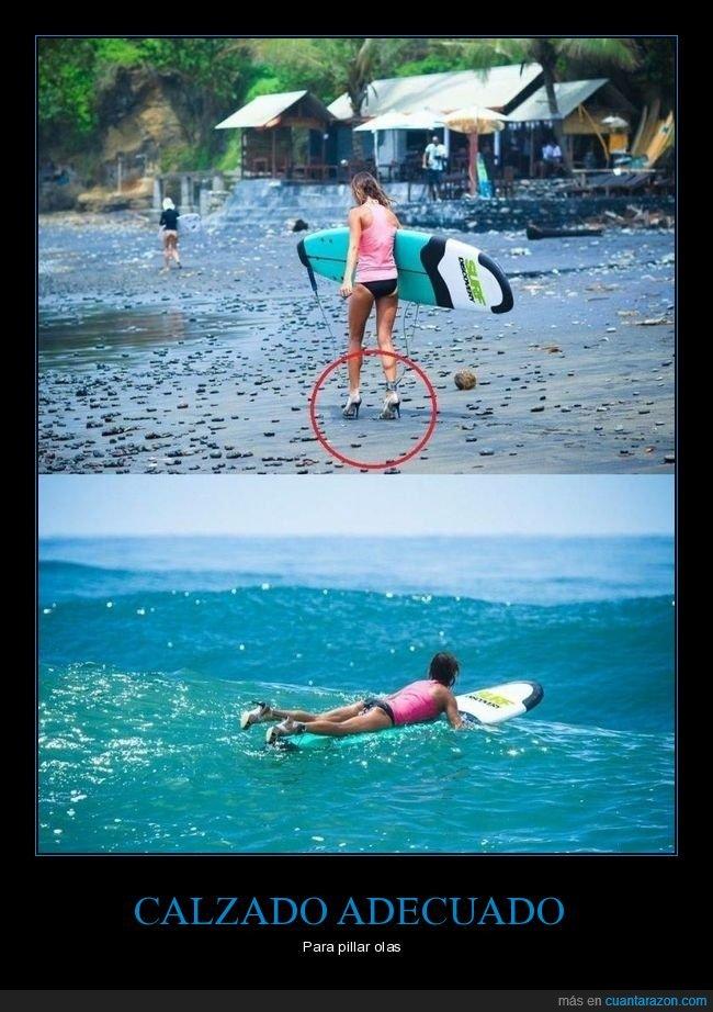 surf,tacones,wtf,zapatos