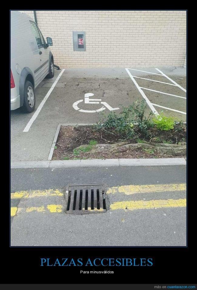 aparcamiento,fails,minusválidos