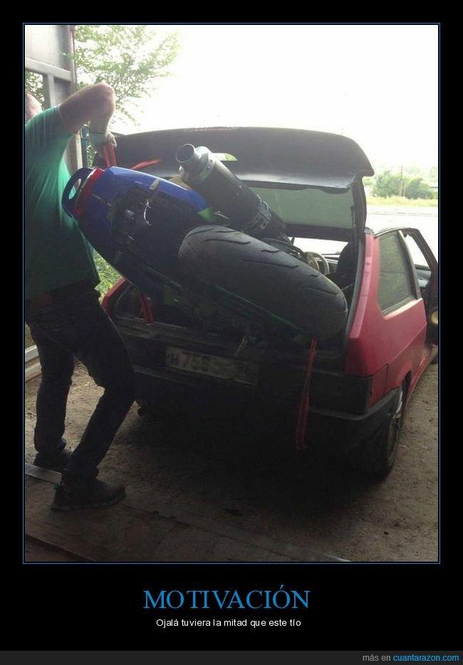 coche,maletero,moto,wtf
