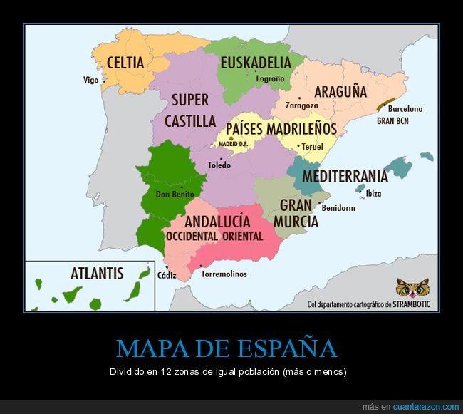 españa,mapa,población,zonas