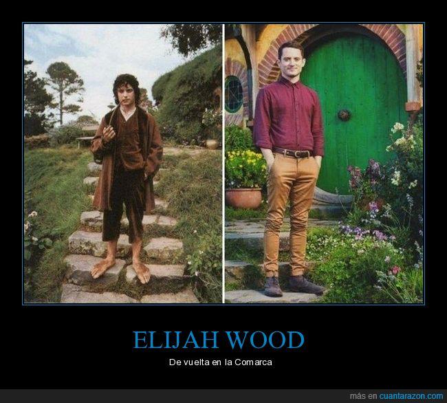 el señor de los anillos,elijah wood,la comarca